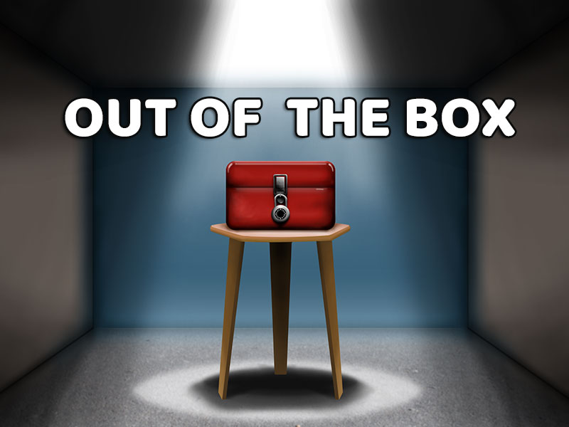 Out of the Box offers a delight for those who love escape puzzles and lots of them...